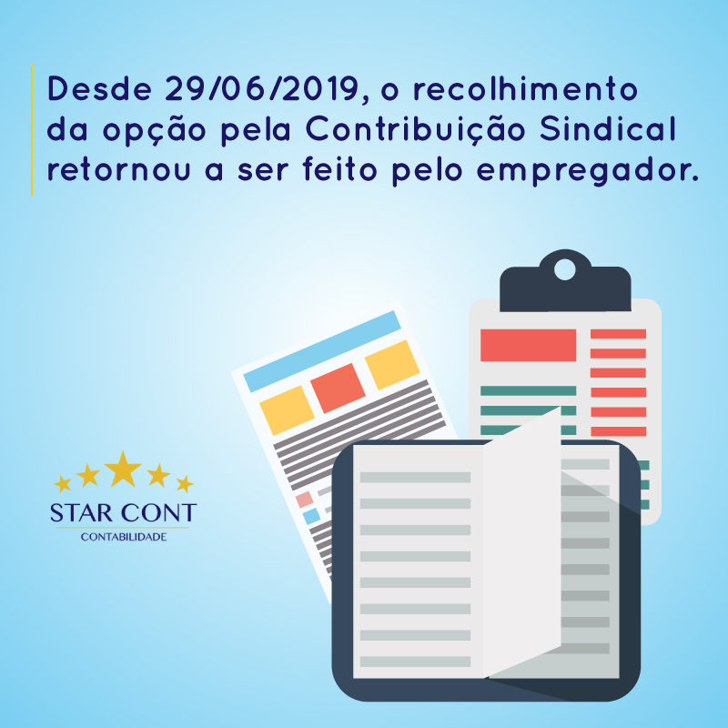 starcont contribuicao sindical