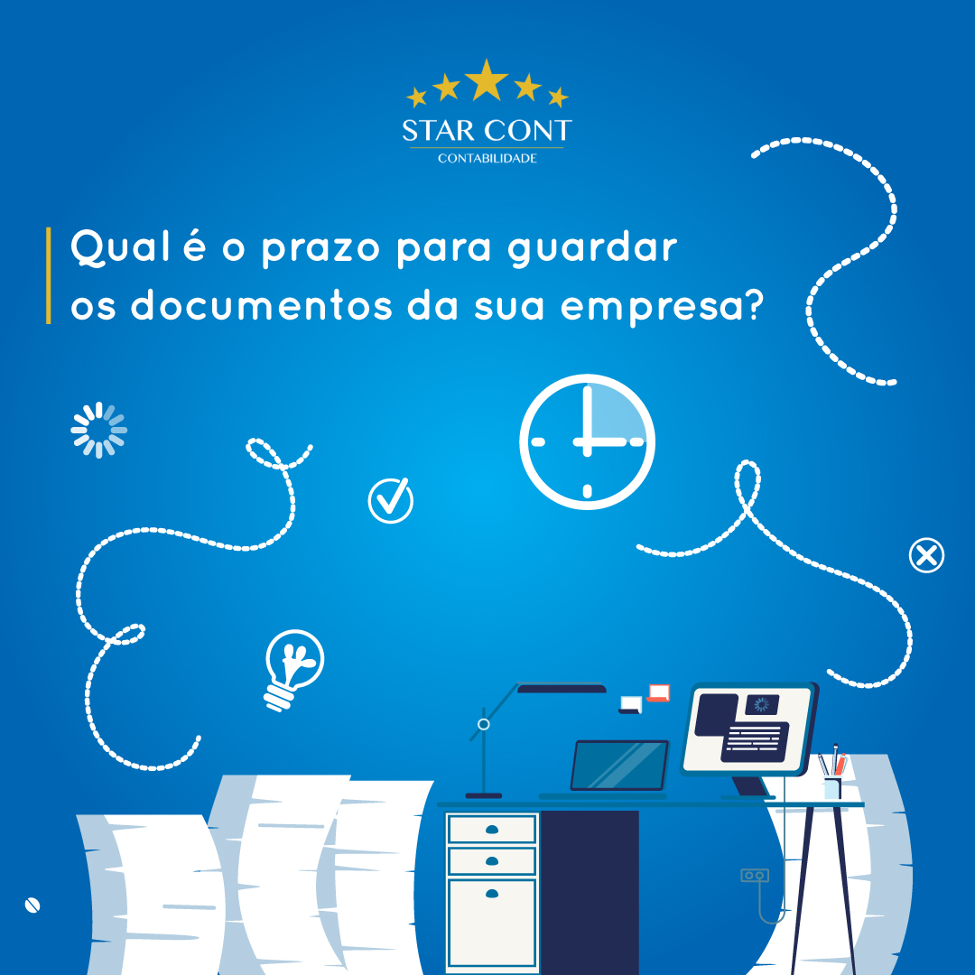 starcont prazo guardar documentos